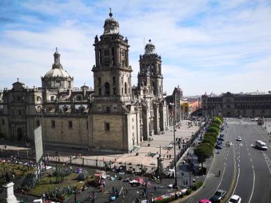 Die Kathedrale im Stadtzentrum.