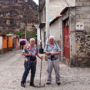 Mami und Ruedi in Malinalco.