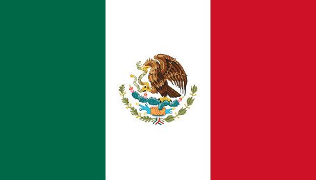 Mexikanische Flagge.