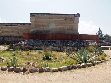 Die Ruinen von Mitla