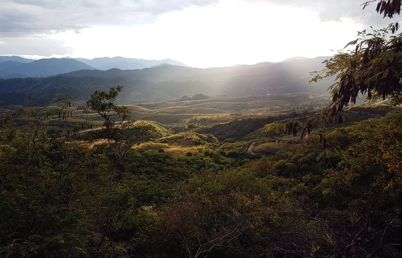 Landschaft, El Portrero.